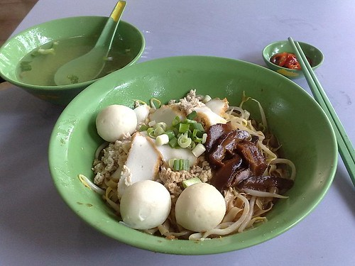 Fishball Noodle - Dry Mee Pok