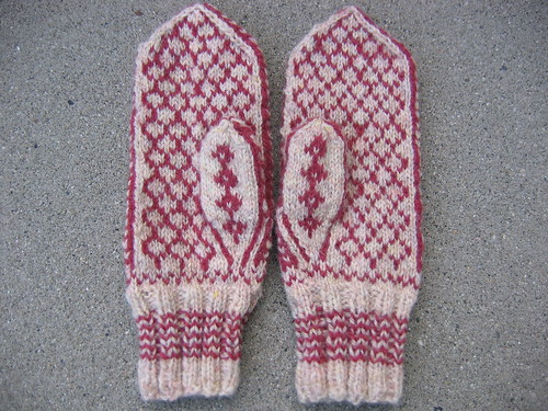 Andie's Mittens, back