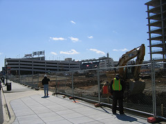 construction site near Nationals Park (by: Dave Shepherd, creative commons license)