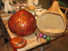 Gourds for Crafted in the Village