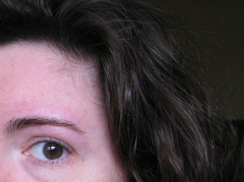 Got my eyebrows waxed