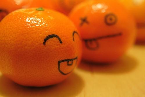 Mandarines de la St Nicolas