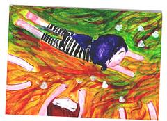 vamos a la playa (alterna ) Tags: love nia linda etc natalia boba nias nati dibujos dibujo ilustracion ilustraciones ilustra monos pinte alterna alternativa entretencion acrilicos micreacion alternanati alternaboba