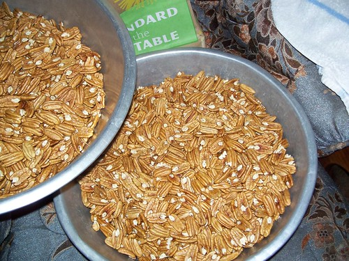 shelled pecans = Christmas money