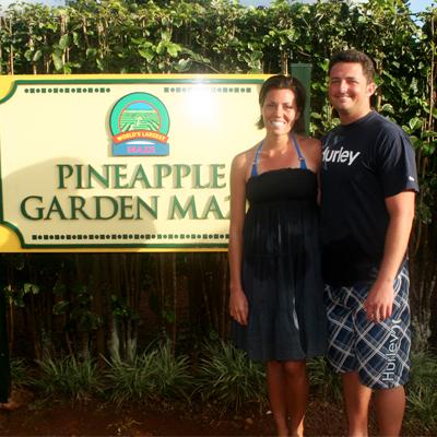 pineapple maze