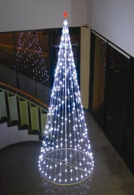 Post-modern Christmas tree?  Or strategic nuclear missile warhead?