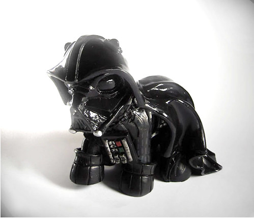 My little pony Darth Vader