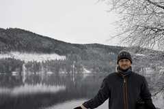 Shane and the Lake (rknickme) Tags: lake germany shane titisee