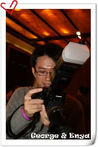 你拍攝的 20081220GeorgeEnya婚宴145.jpg。