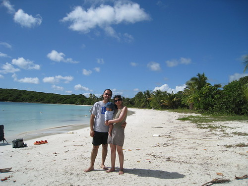 Media Luna beach in Vieques