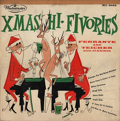 Xmas HiFivories (wardomatic) Tags: christmas illustration vintage fun album vinyl 1954 record 10inch 3313rpm ferranteandteicher