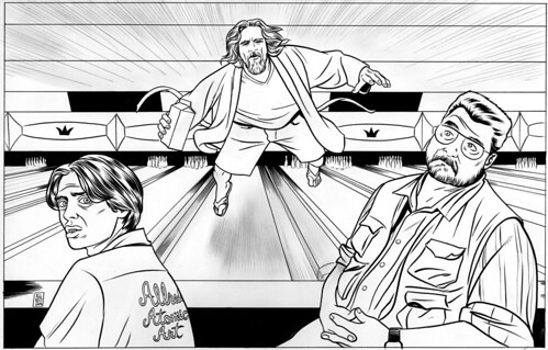 THE BIG LEBOWSKI by Mike Allred