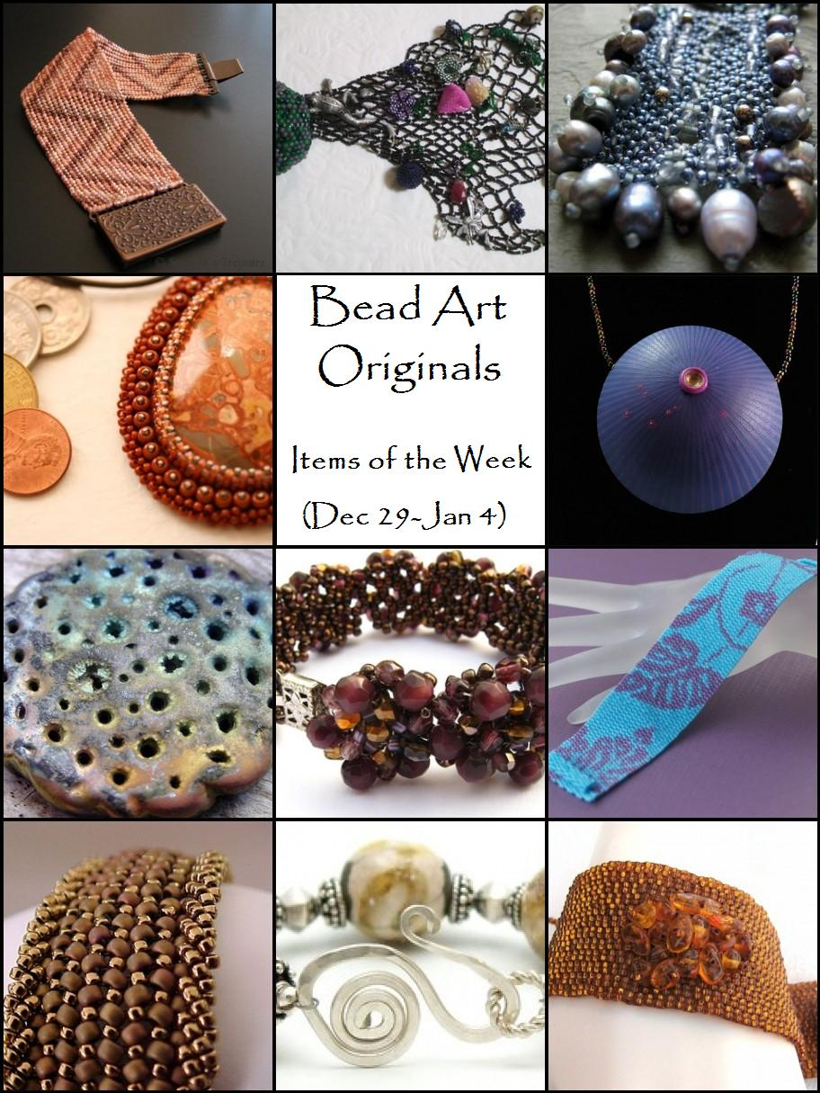 Bead Art Originals Items of the Week (12/29 - 1/4)