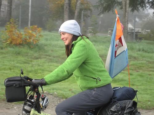 john Ivana polar verde en bici -Gville02