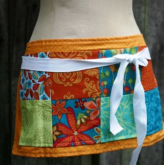 a day for doing it my way, selma patchwork apron