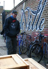 TourdeVille_bikes1 (bareknuckleyellow) Tags: london shop cat point cycling alley bikes racing tricks fixed fixie messenger hackney dalston wheelie stunts wheelies allycat twitter twitter365 fakenger