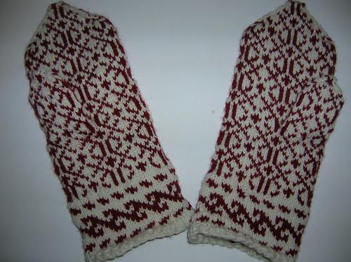 Anatolian Mittens Back