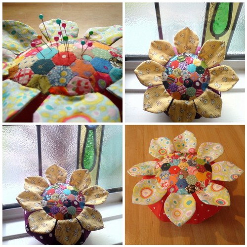 Duniris's hexagon pincushion