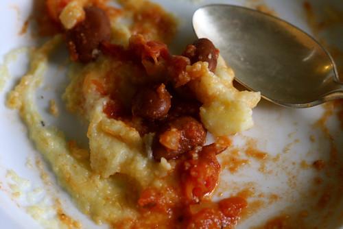 Brolotti Beans and Creamy Polenta