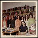 Cataloging Department employees, Ohio University's Alden Library, 1971