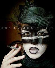 Requiem, K 626 (Sara_Morrison) Tags: music white black face cigarette piano makeup smoking musica bianco nero viso blacklips pianoforte trucco saramorrison