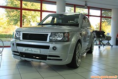 Arden Range rover Jaguar factory usine 19