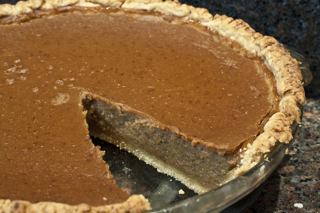 Maple Pumpkin Pie (Dairy free)