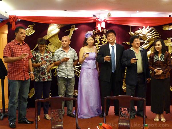Photo of Chong Chan Bei's and Hairen Gan's Families