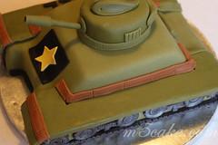Military Tank Cake - 6