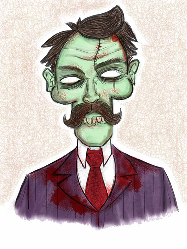 iPad zombie by [rich]