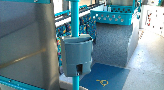 POTD: Buses without Myki readers