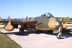 Vampire R1835 (2) (joolsgriff) Tags: vampire airshow dehavilland 2014 tyabb rhodesianairforce vampirefb9 r1835