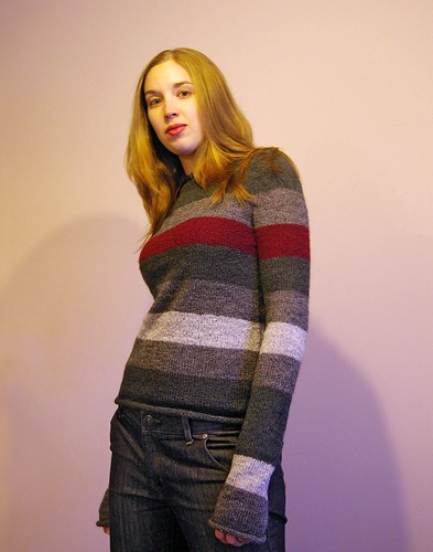 Touch of Grey Sweater
