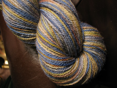 Little Dog Designs BFL Sock Yarn