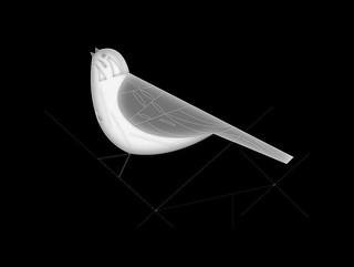 Palomas  y aves de Charley Harper