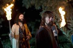 © BBC - THE PASSION on BBC One, starts 16th March, 2008 Pictures show: Jesus (JOSEPH MAWLE) in the Garden of Gethsemane www.bbc.co.uk/bbcone for more info, interviews, pictures and clips.