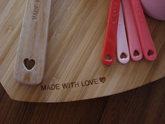 Heart Kitchen Utensils by Ben