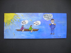 Artwork from the NoLA Rising Group of Artists Being Donated to the St. Bernard Fire Department for the week of Mar 30, 2008