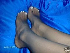 24 (feet_man18) Tags: feet stockings femalefeet