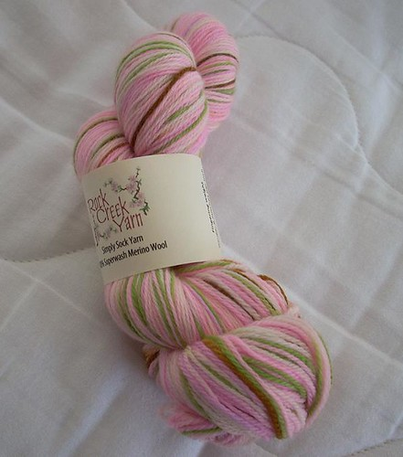 Rock Creek Yarns Simply Sock Cherry Blossom