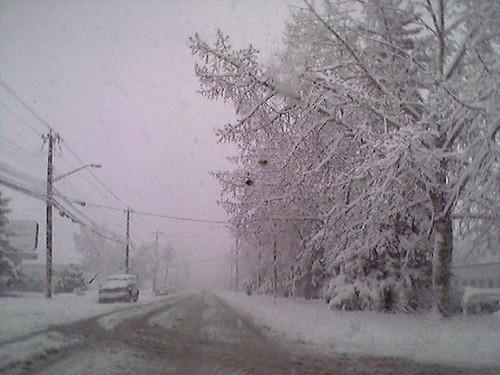 Blizzard April 10, 2008