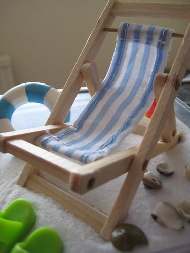 Little deckchair