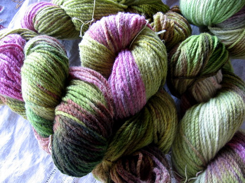 'Plum Trees' colourway, for Jen