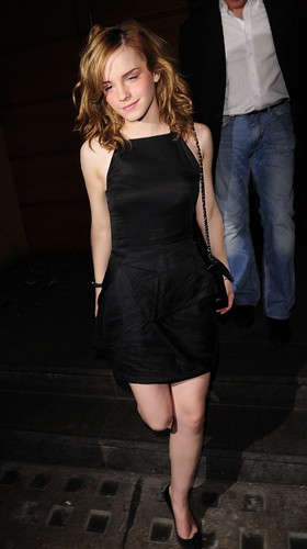 Harry Potter starlet, Emma Watson, celebrating her 18th birthday in London