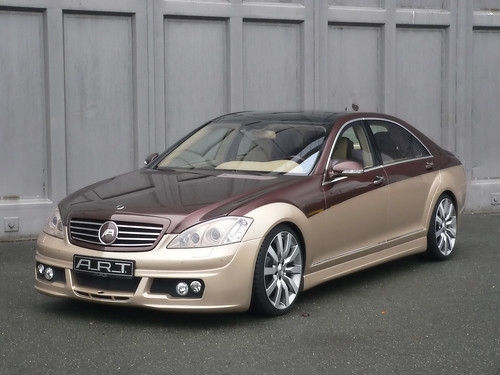 2008 ART Mercedes-Benz S-Class Two-Tone