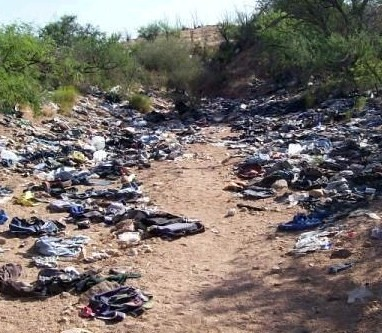 Illegal Immigration Litter