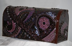 WIP Mailbox...Done (Carol Shelkin, Artist) Tags: color art philadelphia glass portraits artist mosaic fineart  mosaics commissions artistmama wwwcarolshelkinmosaicscom carolshelkin wwwcarolshelkinmosaiccom carolsoritzshelkin carolshelkinmosaics