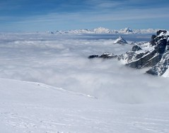 View to Monte Viso and Gran Paradiso (Ron Caves) Tags: granparadiso monteviso