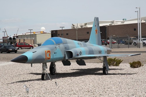 Fighter airplane picture - F-5 Tiger - Spanish Air Force