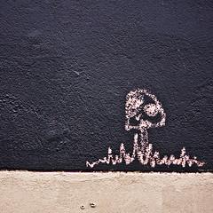 t o a d s t o o l (bradley gaskin) Tags: streetart art texture mushroom canon eos australia 55mm adelaide toadstool claude sa f4 handdrawn mushie toady 40d smurfhouse